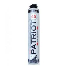 Монтажная пена профессиональная PATRIOT MEGA 45 всесезонная (750 мл) 10002
