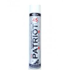 Монтажная пена бытовая PATRIOT MEGA 45 всесезонная (750 мл) 10005
