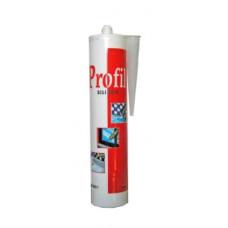 Силиконовый герметик PROFIL санитарный (белый) 10011